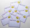 Happy To Be Me - 10 X VIP Name Cards