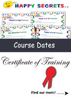 Face-to-face Training Dates for all our Programmes