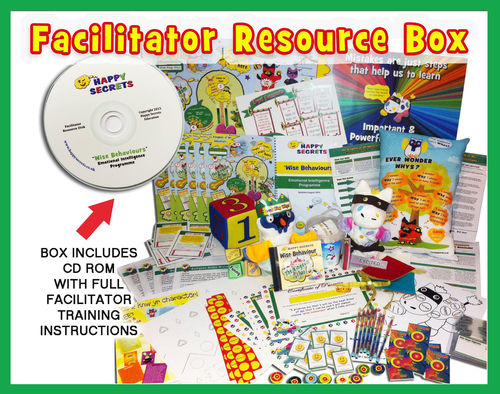 'Wise Behaviours' Facilitator Full Resources Box and Training Modules - Emotional Intelligence