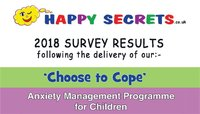 2018 Survey Results for 'Choose to Cope' Programme